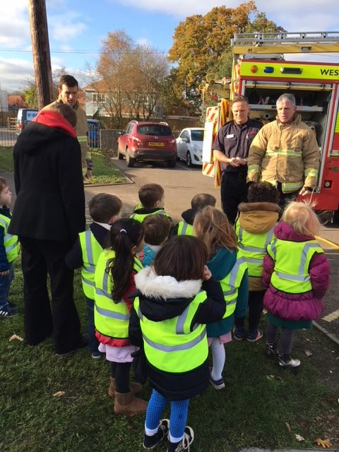 The Fire Service Visit Sunbeams